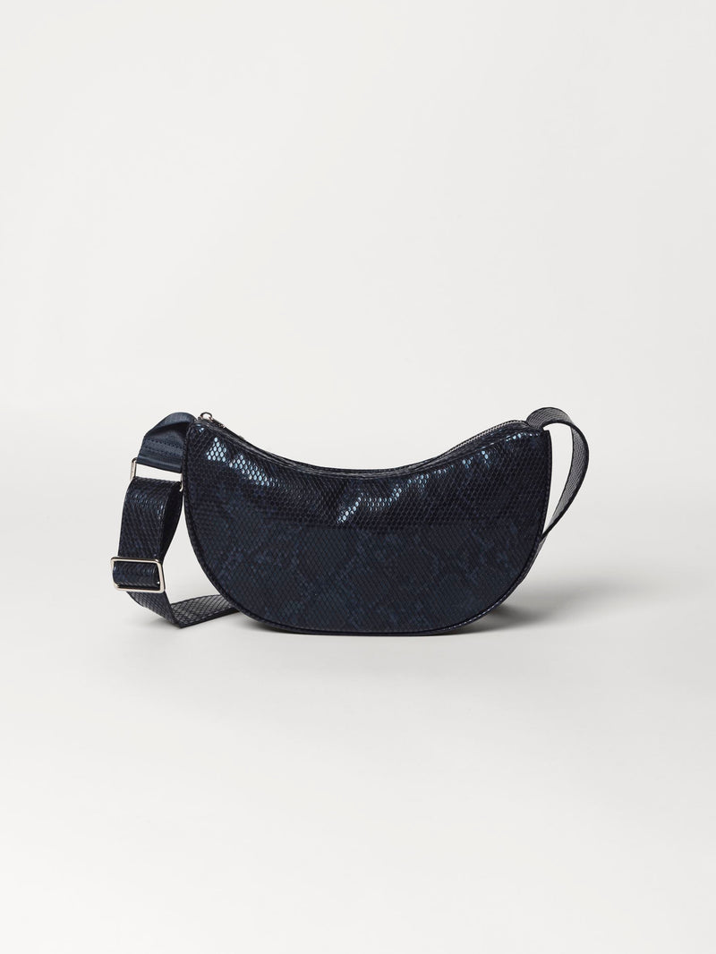 Becksöndergaard, Snake Moon Bag  - Steel Grey, outlet flash sale, outlet flash sale