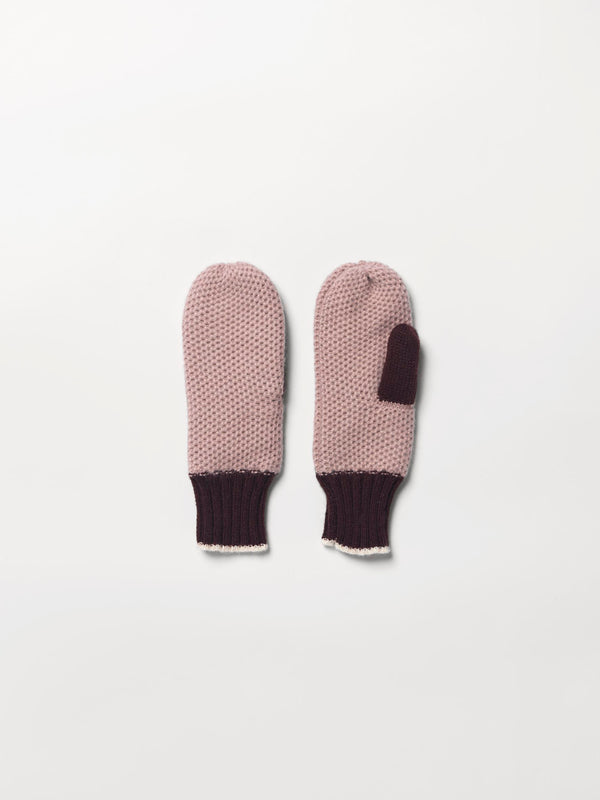 Becksöndergaard, Contrast Emmer Mittens - Bark, accessories, gloves, accessories, gloves, accessories