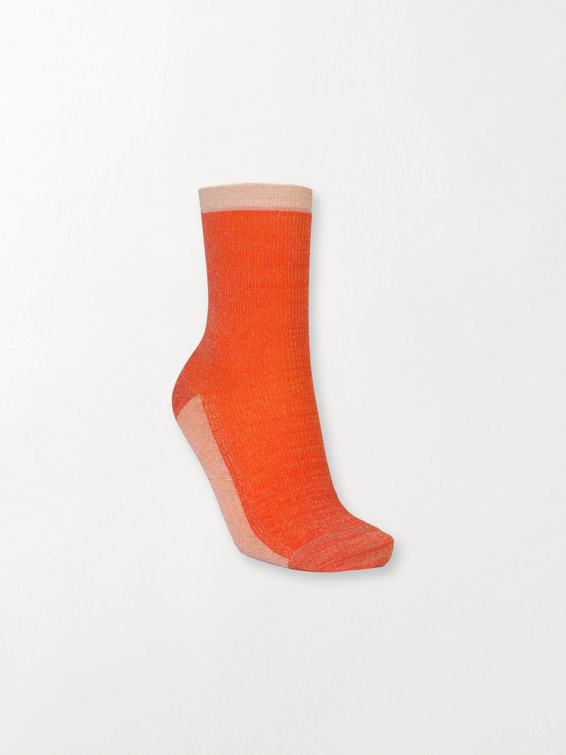 Becksöndergaard, Dea Glitz Sock - Red Love, outlet, outlet