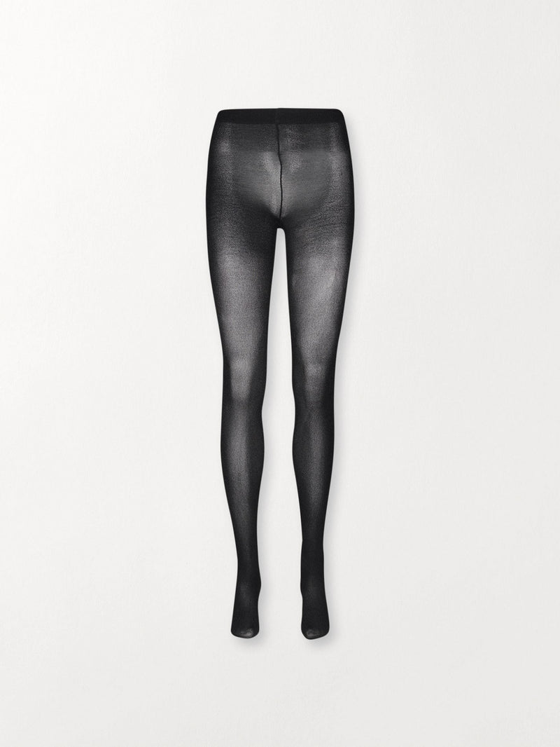 Becksöndergaard, Glitz Toro Tights  - Black, socks