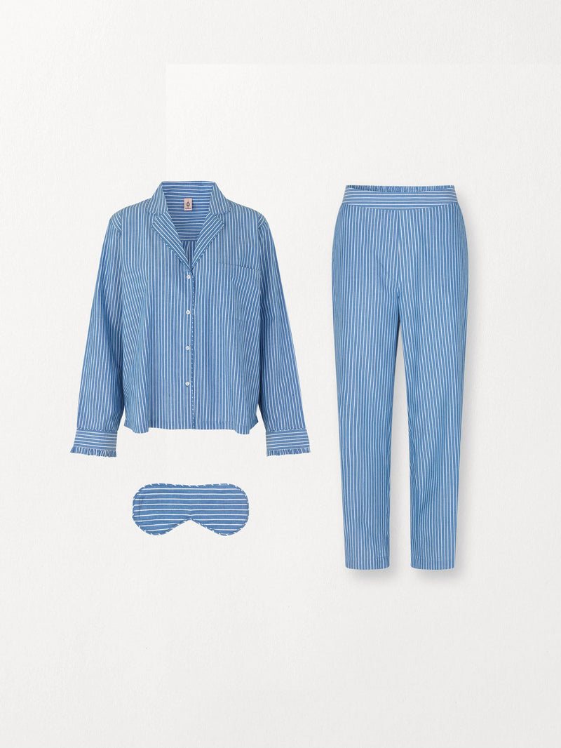 Becksöndergaard, Pyjamas Giftset - Light Blue, clothing