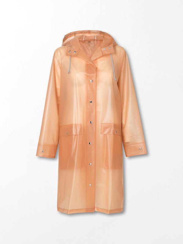 Becksöndergaard, Transparent Magpie Raincoat - Muted Clay, clothing
