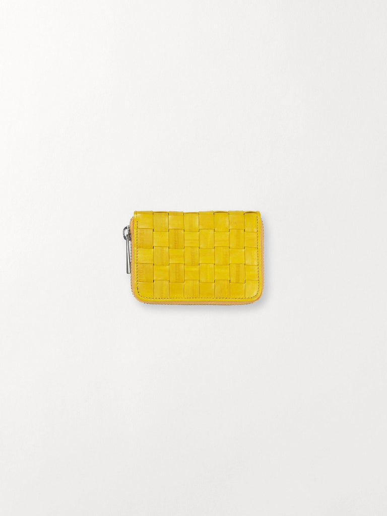Becksöndergaard, Braidy Purse  - Yellow, accessories, wallets, accessories