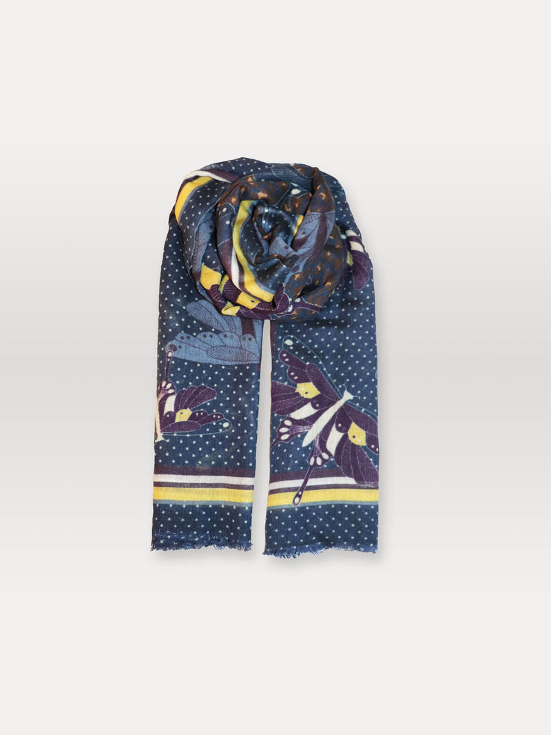 Becksöndergaard, Polkimo Siw Scarf - Night Sky, outlet flash sale, outlet flash sale, sale, sale
