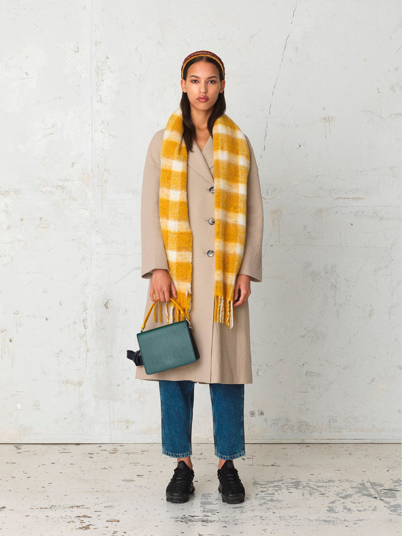 Becksöndergaard, Isobell Scarf - Golden Yellow, outlet flash sale, outlet flash sale