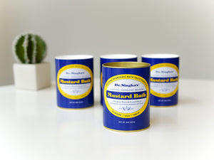 Mustard Bath Three Pack (8 oz) Seasonal Special