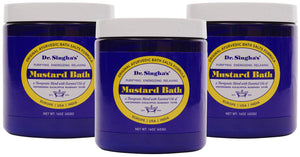 Mustard Bath (16 oz) BUY 2 Get One FREE!!!