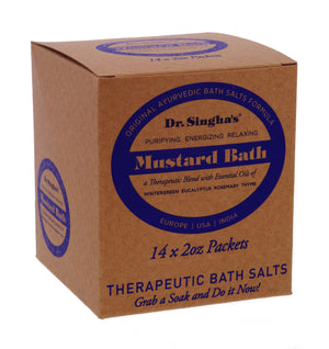 Mustard Bath (2oz x 14 units)   $2.49/unit      SEASONAL SPECIAL