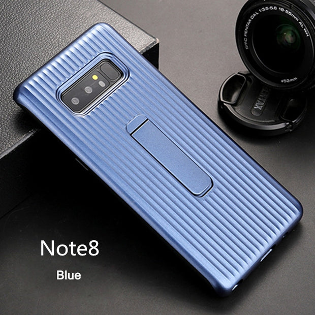 100% Genuine Samsung Smartphone Case For Galaxy Note8 With 6 Colors Available Plastic Acrylic Material Kickstand Cover