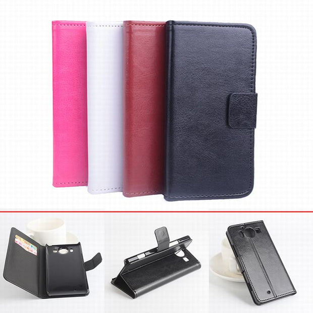100% High Quality Leather Case For Microsoft Nokia Lumia 950 Flip Cover Case For Lumia950 Leather Covers Phone Cases
