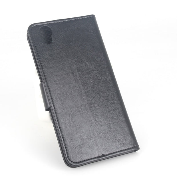 100% High Quality Leather Case For Umi London Flip Cover Case For Umi London Wallet Leather Covers Phone Cellphone Cases