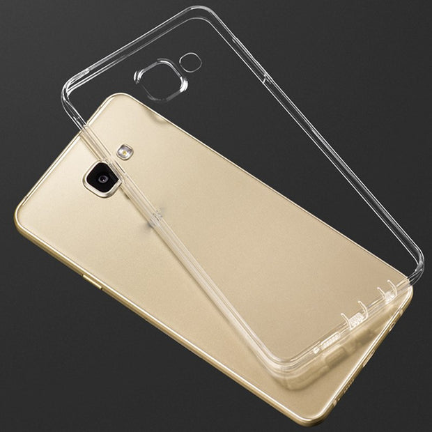 10pcs For Samsung Galaxy A320/A520/A720/A3 2017 TPU Case Resistant Silicone Case 0.3mm Ultra Thin Slim Soft Case Protector