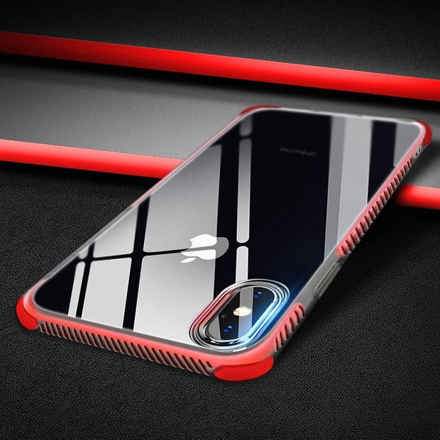 c24a2840d3 10pcs/lot Case For Iphone 6 S 6s Plus Iphone X 10 Luxury Silicone Clear