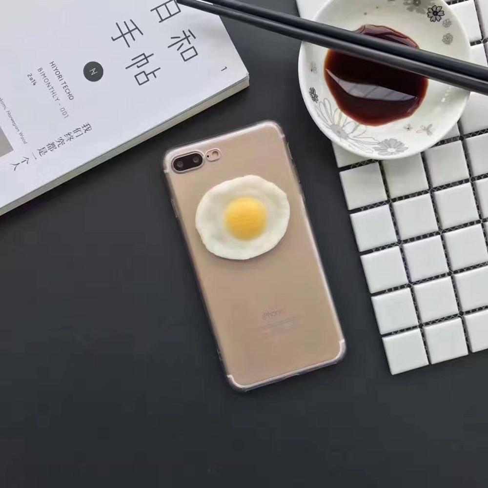 2017 The Newest 3d Cute Cases Originality Funny Simulation Fried