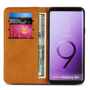 2018 Cases For Samsung Galaxy S9 S9Plus Flip Leather Case Luxury Wallet Coque Phone Bag Cover For Samsung S9 Plus S9P Fundas