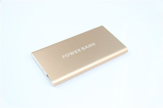 2018 Ultra Slim Portable Power Bank 8000mAh Polymer Powerbank Mobile Charger External Battery Chargers 8000 Mah Backup Battery