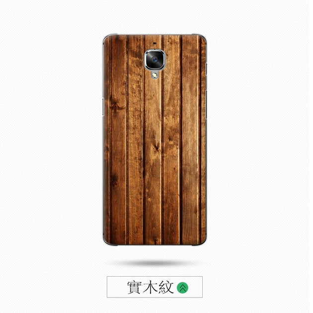 purchase cheap 3aa3e caa1e 2PCS Wood Grain 5.5 Inch For Oneplus 3T One Plus A3010 Case Cover Case Hard  For Oneplus 3 T One Plus 3T Back Cover Phone Case