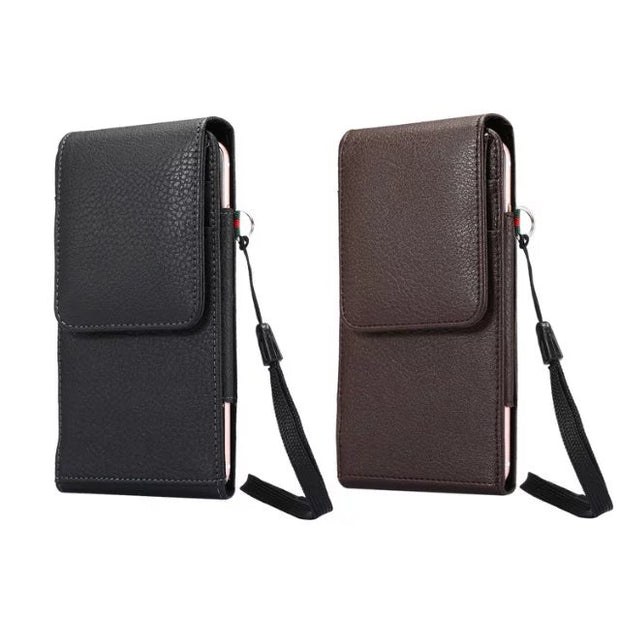 3.5~4.8 Inch Universal Case Leather Wallet Case Belt Clip Pouch Holster For Iphone 5 5s 6 6s 7 Xiaomi Redmi 3 Pro 3S