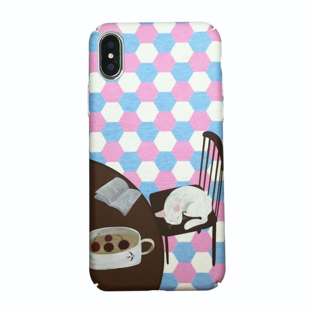 3D Cartoon Kawaii Cat Hard Case For Iphone 6s 6 Plus 6p Iphone 7 Plus 7plus 7p For Iphone 8 X Xs Case Cute Cover Cool