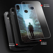 6.95inch For Huawei Honor Note 10 Case Phone Case Tempered Glass Cover For Honor Note10 Case Cover Protection Shell Fundas Capas