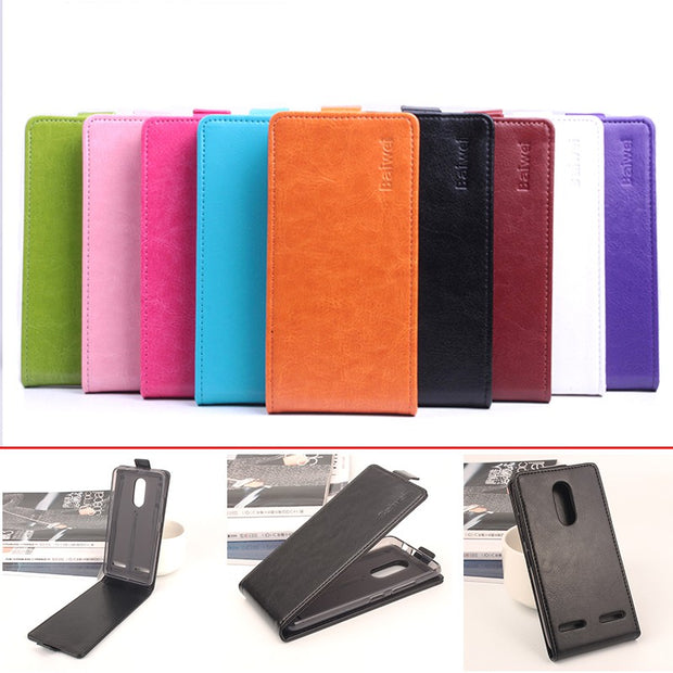 "9 Colors Silicone Luxury Leather Case For Lenovo K6 5.0"" Flip Cover Case Housing For Lenovo K6 Cellphone Cover Phone Cases"
