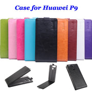 9 Colors High Quality Luxury Leather Case For Huawei P9 Flip Cover Case For Huawei Ascend P9 Cellphone Cases Phone Housing