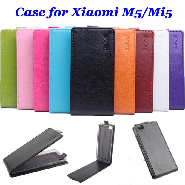 9 Colors High Quality Luxury Leather Case For XiaoMi M5 Mi5 Flip Cover Case For XiaoMi M5 Mi 5 Cellphone Cases Phone Housing