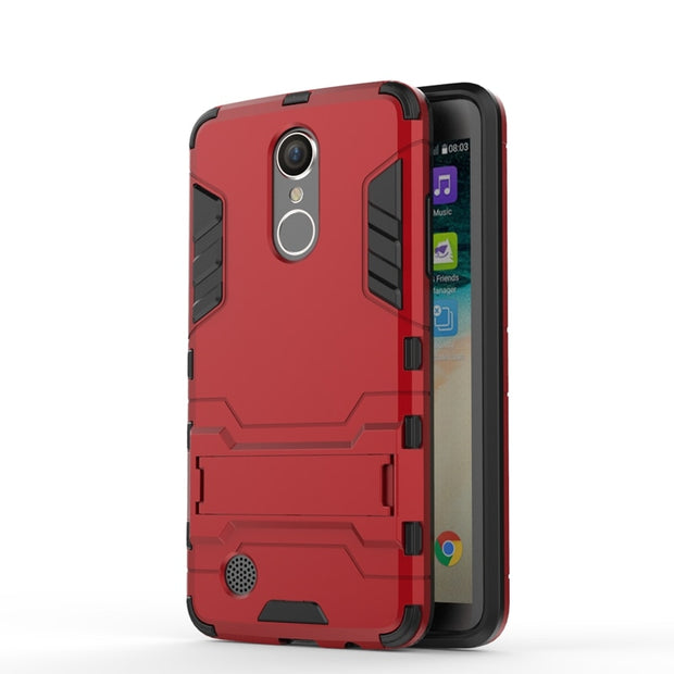 AIPUWEI CASE For LG Aristo LV3 MS210 Case 5.0 Inch Armor Robot Hard Tpu + Pc Phone Back Cover For LG LV3 M210 Cover Case Capa
