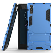 AIPUWEI CASE For Sony Xperia X Compact X Mini Xperia XZ SONY XZ Case XA X PERFORM Silicon Plastic Armor PC + TPU Hard Case Stand