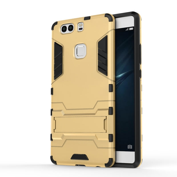 AIPUWEI Cover Case For Huawei P9 Plus Cases PC+TPU Armor Anti-knock Protective Back Cover For Huawei P9 Plus 5.5 Inch BACK SHELL