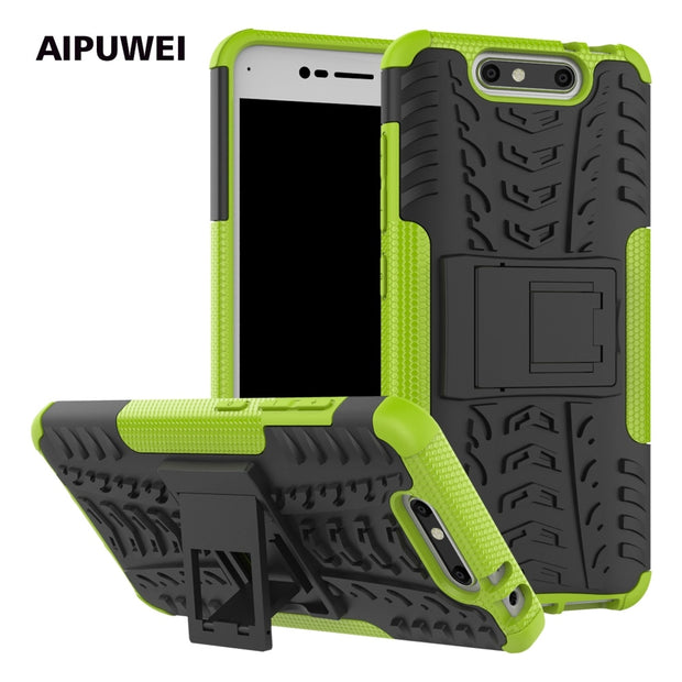 "AIPUWEI FOR ZTE Blade V8 5.2"" Case Cover, Hard TPU + PC Armor Back Cover Case For ZTE Blade V8 V 8 Cases For ZTE V8 Case Cover"