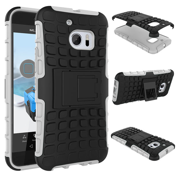 "AIPUWEI For HTC M10 Cases Hybrid Dual Heavy Duty Hard Anti-knock 5.2"" Back Armor Cover Cases For HTC One M10 Case FOR HTC 10 HOT"