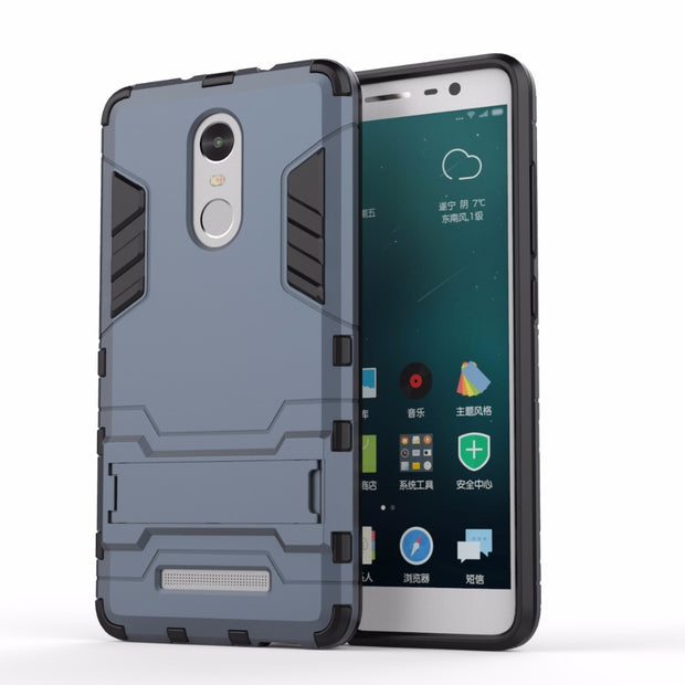 AIPUWEI For Xiaomi Redmi Note 3 Case Phone Case Shockproof Robot Armor TPU+PC Hard Back Cover For Redmi Note 3 Pro CASES CAPA