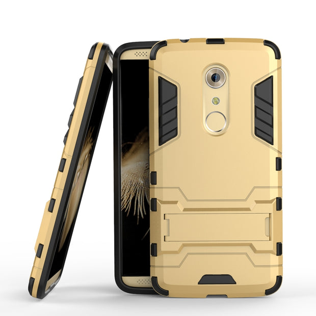 AIPUWEI Coque For ZTE Axon 7 Case Shell Shockproof Robot Armor Slim Hybrid Rugged Silicon Hard Phone Cover For ZTE Axon 7 A2017
