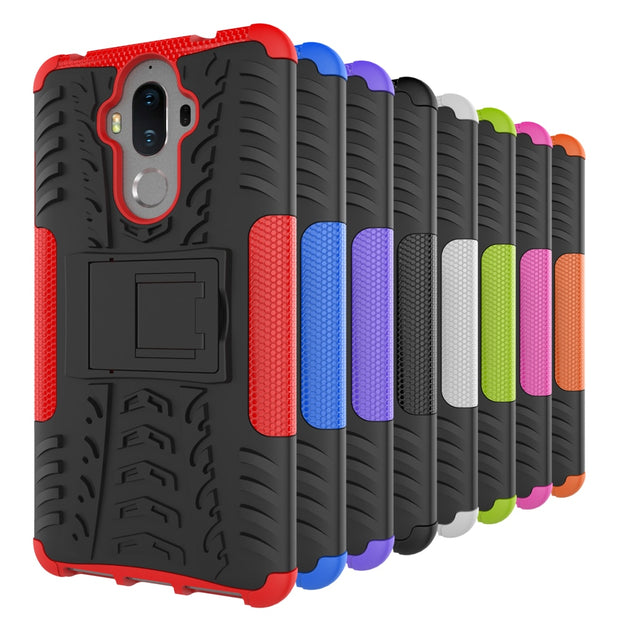 AIPUWEI For Huawei Mate 9 Case Robot Armor Heavy Duty Hard Plastic Cover CASE For Huawei Mate 9 Phone Cases Fundas With Stand