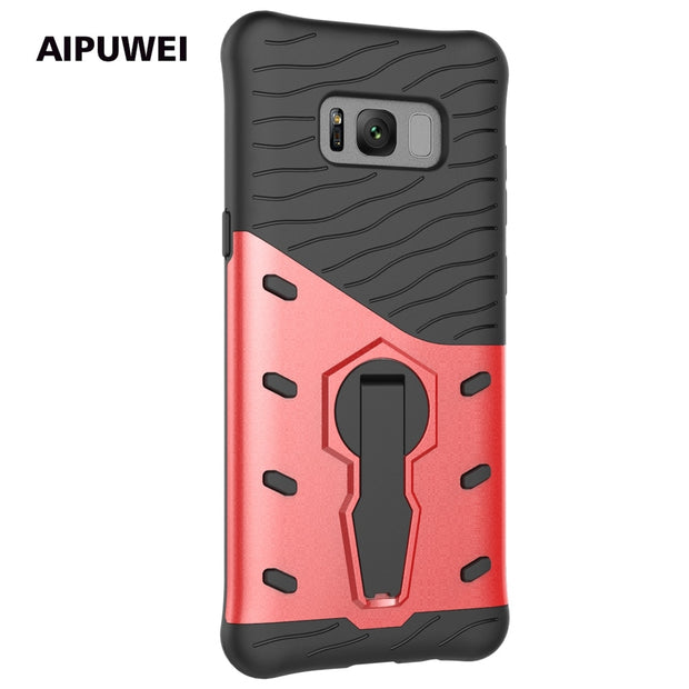 AIPUWEI For Samsung S8 Case For Samsung S8 Plus Case Armor Hybrid Cover Luxury For Samsung S8 Cover For Samsung Galaxy S8 Case