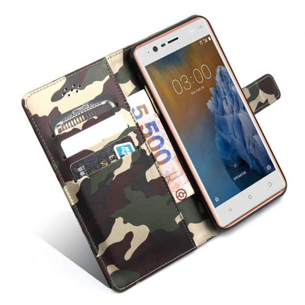 BOGVED Original Camouflage Phone Case For Nokia 3 5 Cover For Nokia 5 3 Cellphone Cases Fashion Luxury Shell 5.0 Inch In Stock