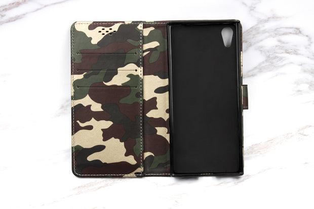 BOGVED Original Camouflage Phone Case For Sony Xperia XA1 Silicone Cover For Sony Xperia XA1 Cases Cellphone Soft TPU Shell