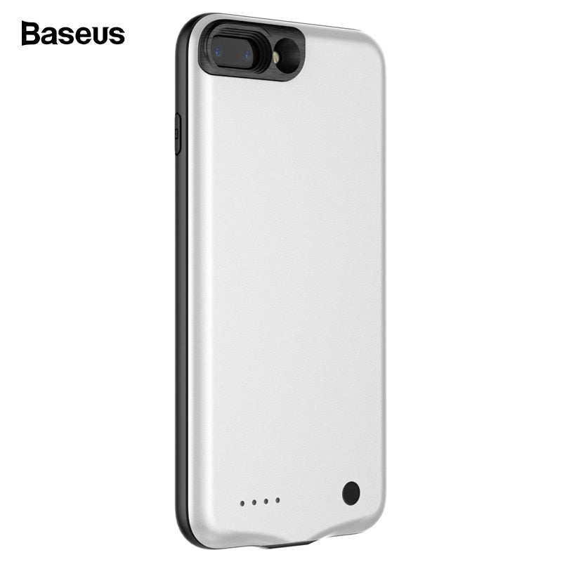 competitive price 1e233 87754 Baseus Battery Charger Case For IPhone 8 7 Plus 2500/3650mAh Backup  Powerbank Charging Case For IPhone 8 7 External Battery Case