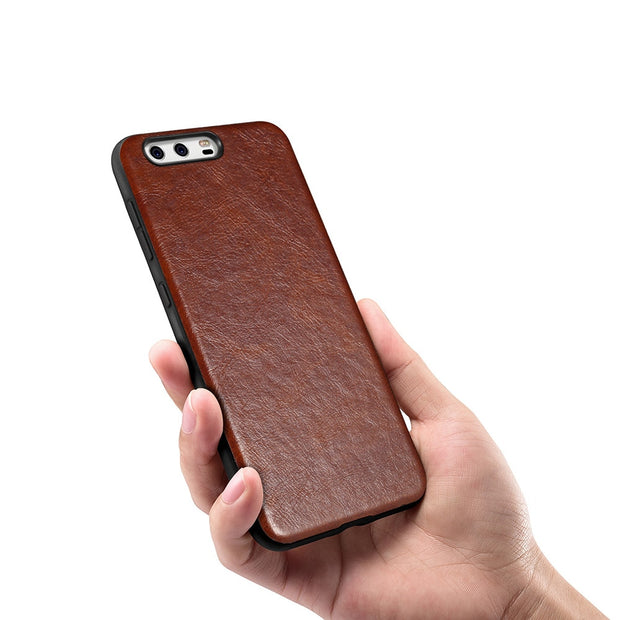 "Batianda For HUAWEI P10 Plus Case With Flexible Inner Protection Slim Phone Cover Case P10 Plus 2017 5.5"" - Brown"