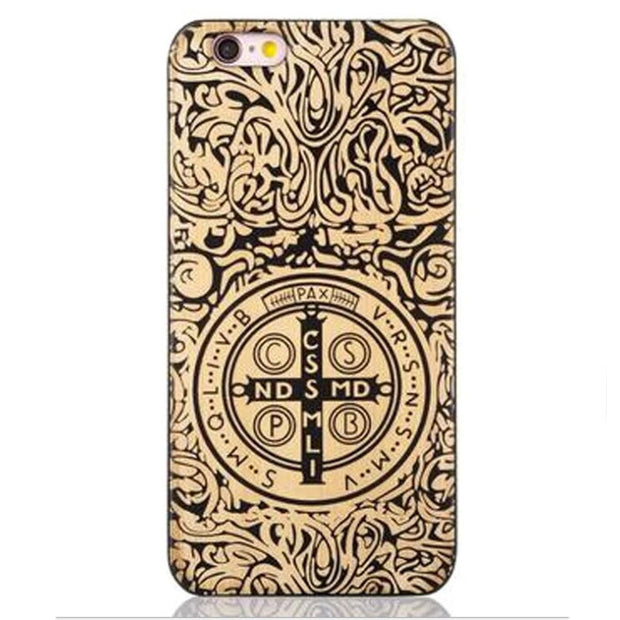 save off 6fd8d d6065 Black Maple Wolf Retro Individual Original Real Wood Phone Case For ...