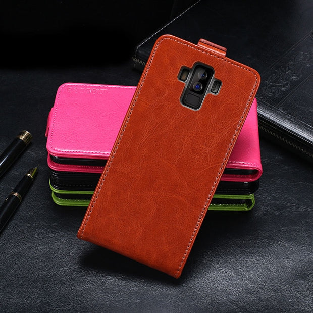 Bluboo S3 Case Cover Luxury Leather Flip Case For Bluboo S3 Protective Phone Case Back Cover
