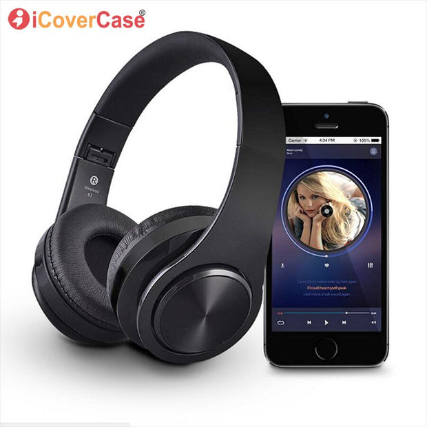 Bluetooth Headphone For Huawei Honor 8x 8c 8 X Foldable Wireless Earph Northern Cases