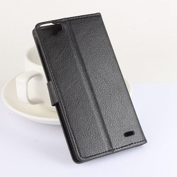 Brand HongBaiwei Doogee F3 Pro Case Cover Luxury Leather Stand Wallet PU Leather Flip Case Cover For Doogee F3Pro Skin