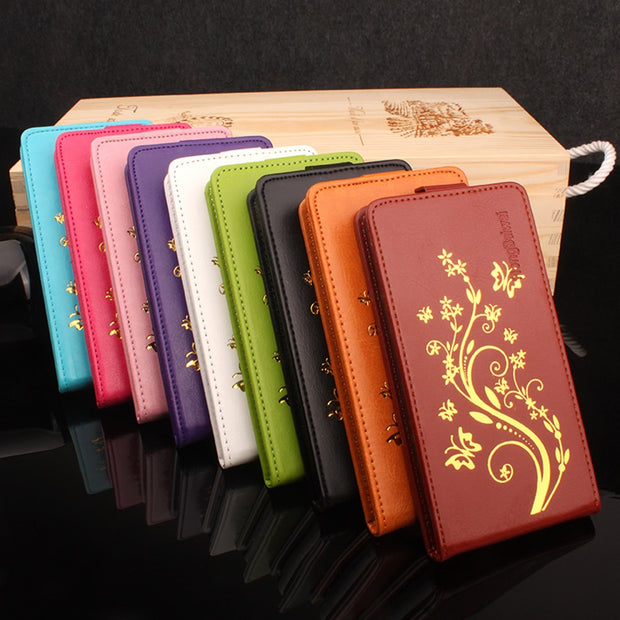 Brand HongBaiwei Leather Case For Huawei Honor 4C Pro / Enjoy 5 / TIT-AL00  Y6 Pro / TIT-L01 5 0