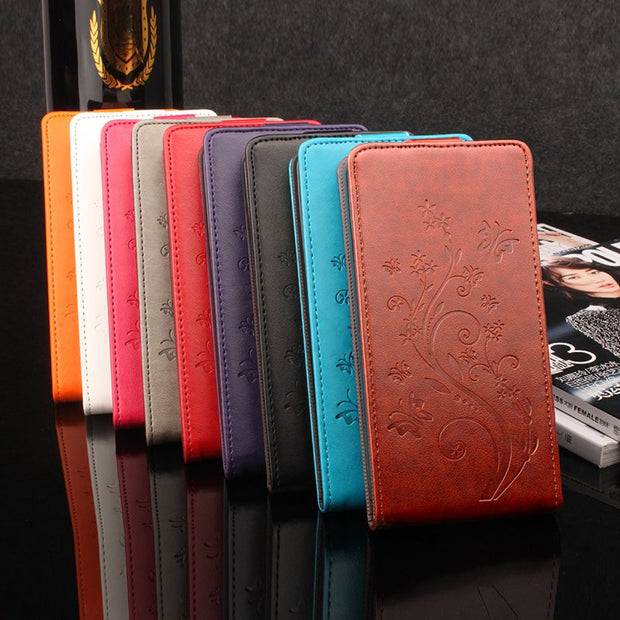Brand HongBaiwei Luxury Wallet For ZTE L3 Flip Leather Cover Case For ZTE Blade L3 Magnet Phone Case Back Cover With Card Holder