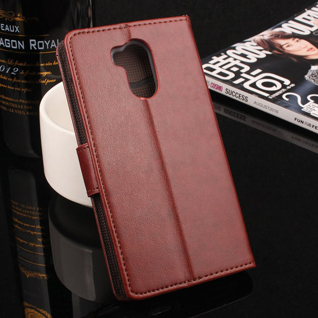 Brand HongBaiwei Xiaomi Redmi 4 Pro Case Flip Wallet Leather Case For Xiaomi Redmi 4Pro Hongmi4 Pro Stand Function Card Holder