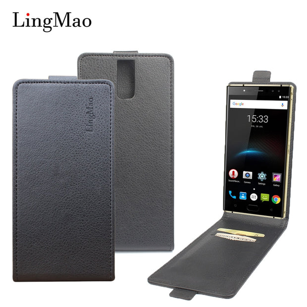 Brand Litchi Grain For Oukitel K3 Case High Quality Leather Case Back Cover With Wallet For Oukitel K3 Phone Shells