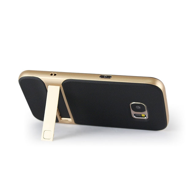 "Brand New 3D Kickstand Phone Case For Samsung S7, PC +TPU Ultra-thin Luxury Back Cover For Samsung Galaxy S7 5.1"" Phone Shell"