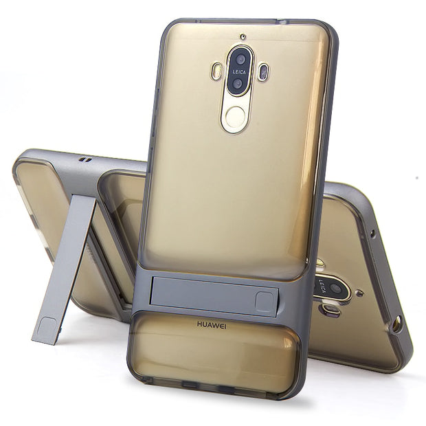 "Brand New 3D Kickstand Phone Case Huawei Mate 9 , PC +TPU Ultra-thin Luxury Back Cover For Huawei Mate 9 5.9"" Phone Shell"